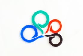Pack Of 24 Knitter's Split Ring Row and Stitch Markers
